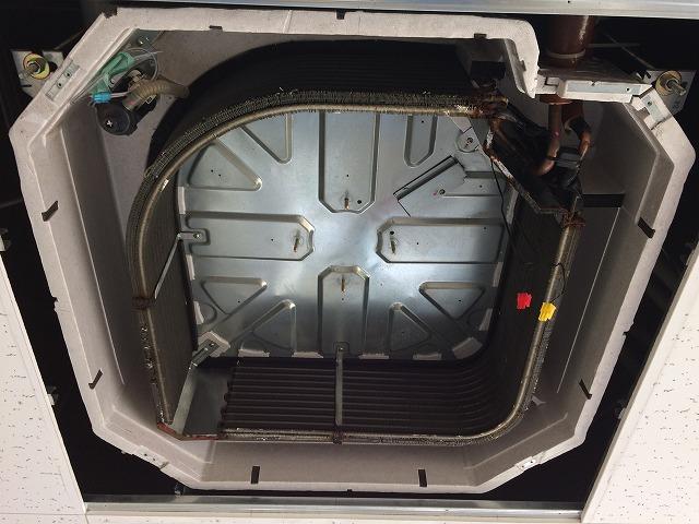 業務用エアコン熱交換器全体洗浄後