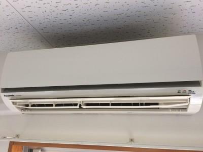 エアコンクリーニング施工前/防府市