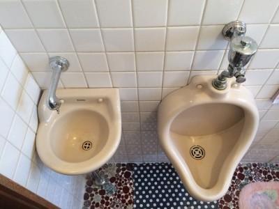 水回り5点セット トイレクリーニング施工前になります。