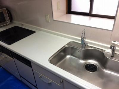 水回り5点セット キッチンクリーニング施工後になります。