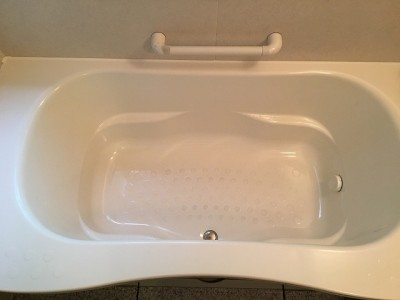 浴槽クリーニング施工前になります。
