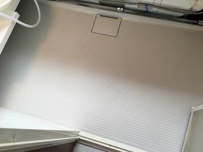 浴室クリーニング施工後になります。
